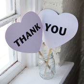 Image of Thank You Hearts
