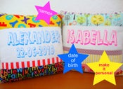 Image of personalised printed cushion