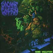 Image of VACANT COFFIN Sewer Skullpture 12""
