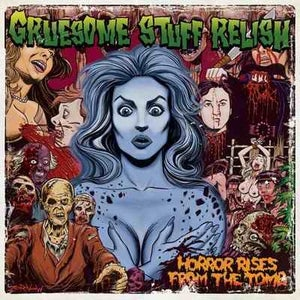 """Image of GRUESOME STUFF RELISH Horror Rises From The Tomb 12"""""""