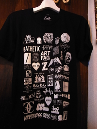 """Image of [Japan Charity] Finally Over The Edge """"LOGOS"""" Tshirt and poster"""