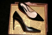 Image of ZARA black pumps