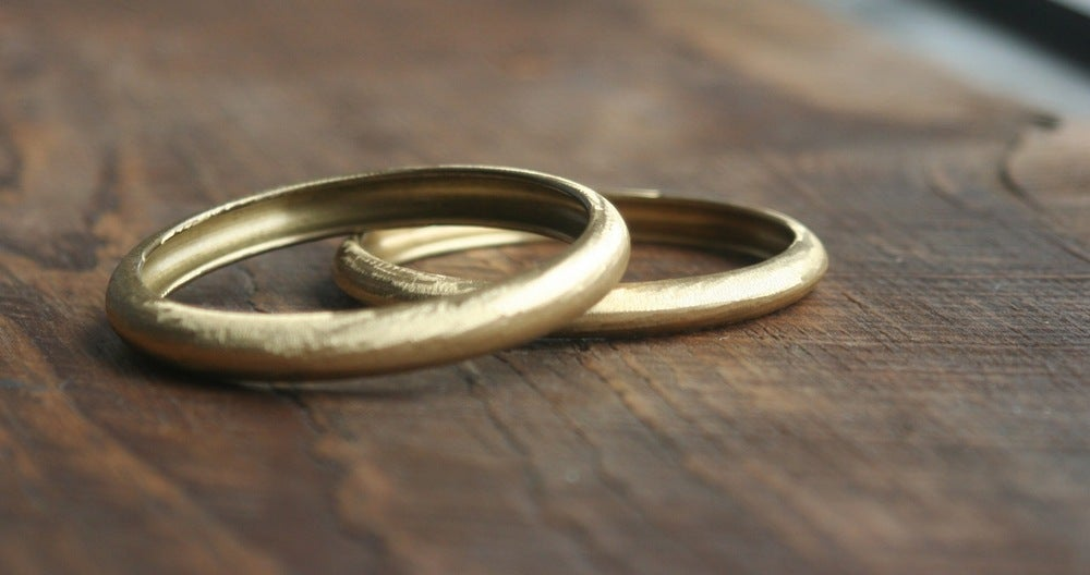 Image of round-round brass bracelet