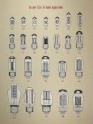 Image of Vacuum Tubes for Audio Applications - Art Print