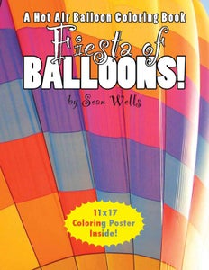 Image of Fiesta Of Balloons Coloring Book Gift Set