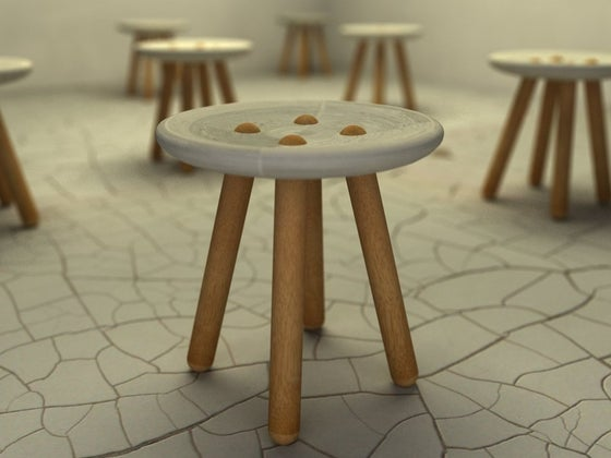 Image of Button Stool
