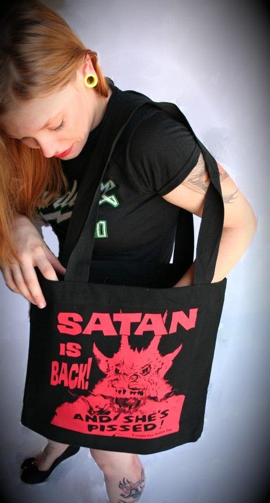 Image of Satan is Back! Tote Bag