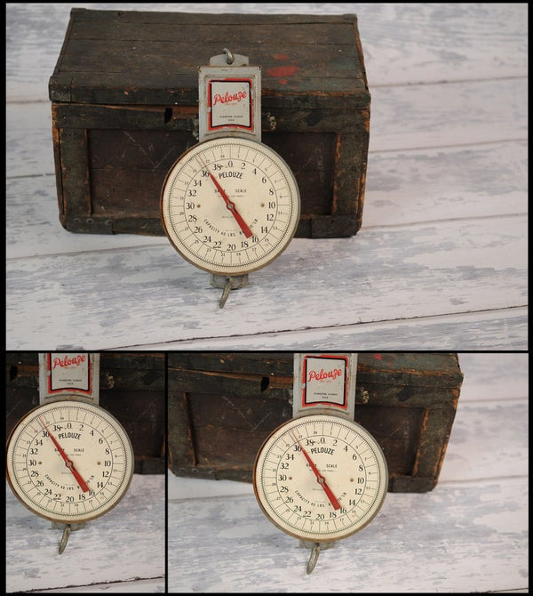 Image of Vintage Hanging Scale-6595