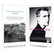 Image of Two Blue Wolves & Nightwork – Special Combined Edition - Paperback w/ FREE Digital Download