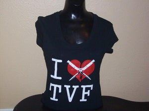 "Image of ""I Love TVF"" Tee"