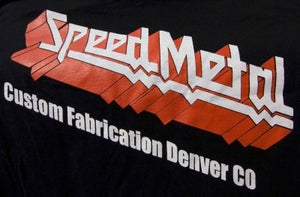 Image of SpeedMetal logo shirt