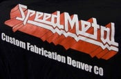 Image of SpeedMetal logo shirt