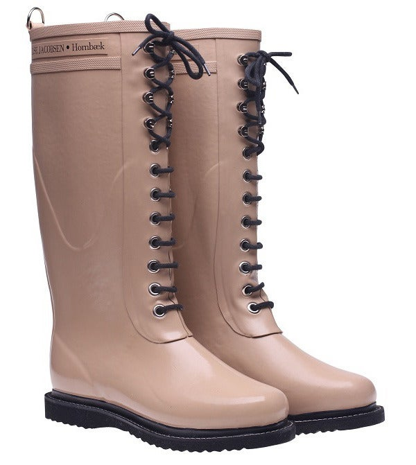 Image of Ilse Jacobsen Rubber Boots - Tall, Camel