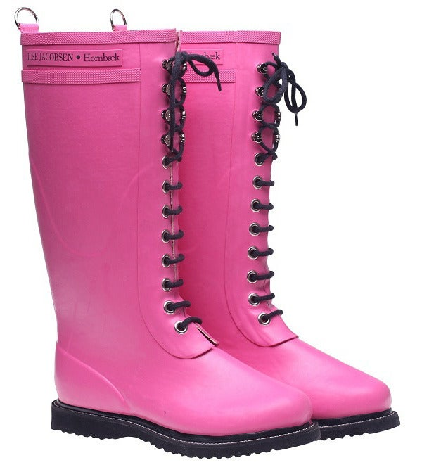 Image of Ilse Jacobsen Rubber Boots - Tall, Pink