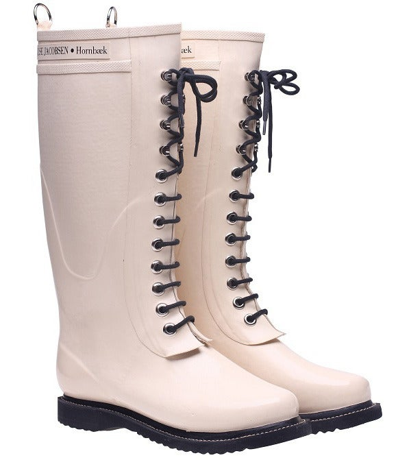 Image of Ilse Jacobsen Rubber Boots - Tall, Beige