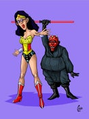 Image of Cosplayers #3 - Wonderwomen and Sith Lords