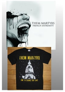 Image of French Extremity Cd + T-Shirt