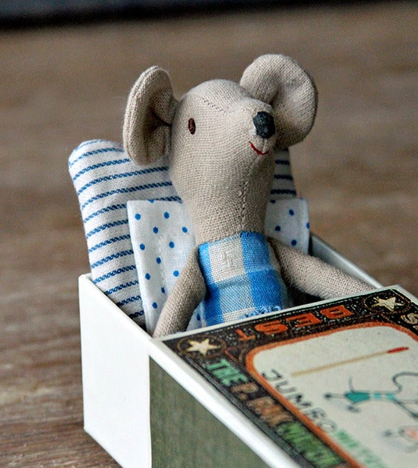 Image of Mouse Big Brother In A Matchbox