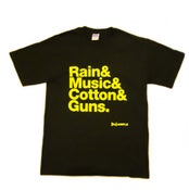 """Image of """"Manchester"""" T-Shirt - BLACK"""