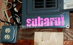 Image of Subaru Love Sticker