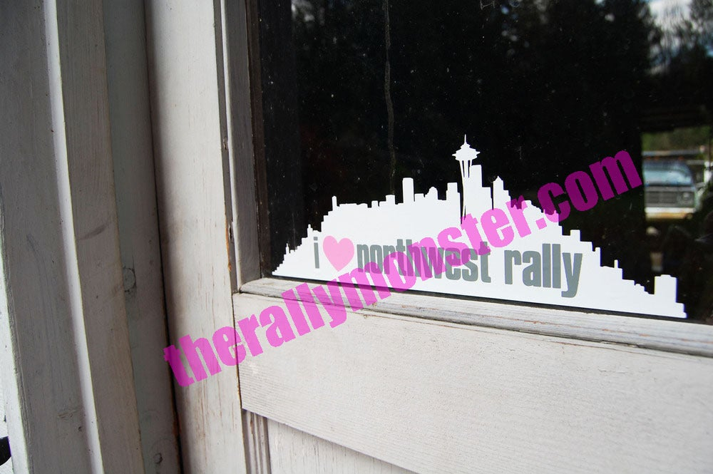 Image of I Love Northwest Rally Sticker