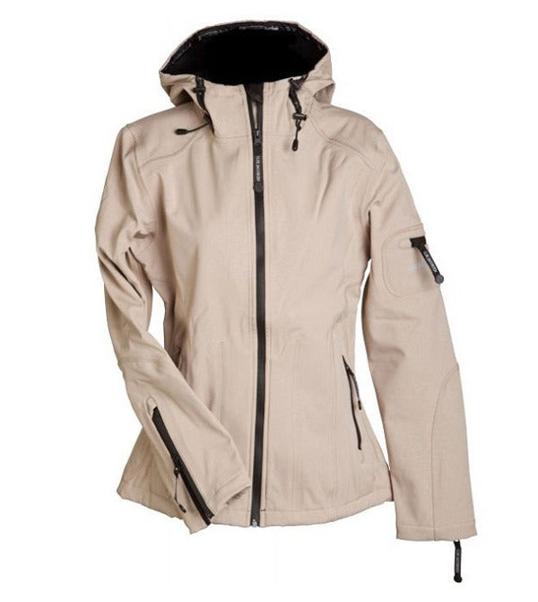 Image of Ilse Jacobsen Rain Jacket - Sesame