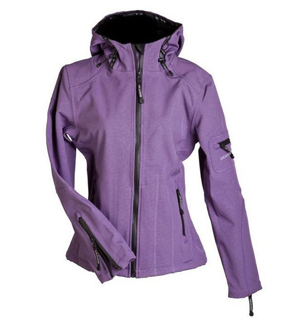 Image of Ilse Jacobsen Rain Jacket - Purple