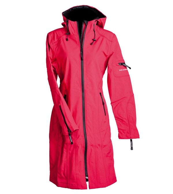 Image of Ilse Jacobsen Full Length Raincoat - Rose