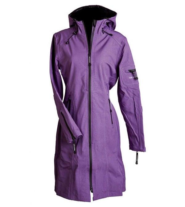 Image of Ilse Jacobsen Full Length Raincoat - Purple