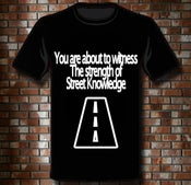 "Image of T-Shirt ""Street Knowledge"""