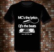"""Image of T-Shirt """"MC's & DJ's"""""""