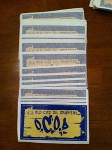 Image of OCOD PA Plate sticker