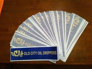 Image of OCOD  Bumper Sticker
