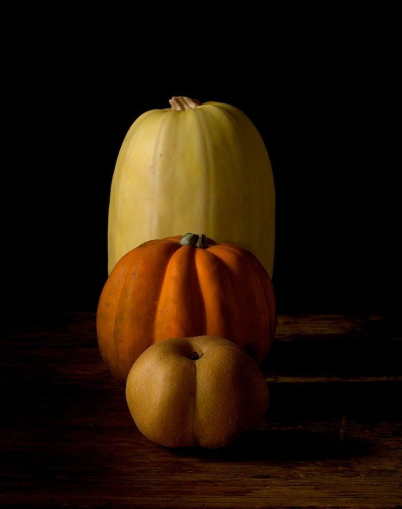 Image of Spaghetti squash, Acorn squash, Asian pear