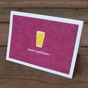Image of Hoppy Birthday Stationery