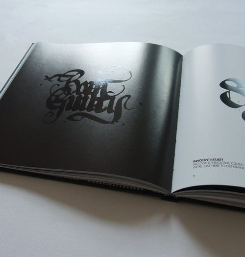 Image of CALLIGRAFFITI BOOK