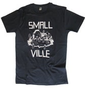 Image of Smallville Shirt Logo- navy/ white
