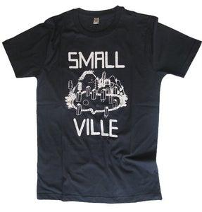 Image of Smallville Shirt Logo- navy/ white