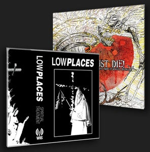 Image of JUST DIE!/LOW PLACES COMBO PACK!!!!! I WANT IT ALL!!!!