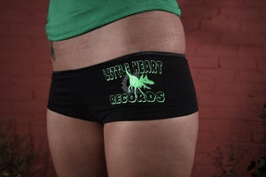 Image of Little Heart Records Undies: Vaginaraptor Strikes! CLEARANCE!!