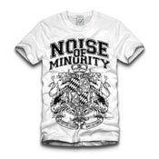 Image of Noise Of Minority - Crest Shirt | Girlie