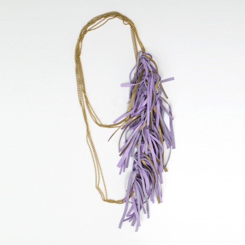 Image of fringe necklace