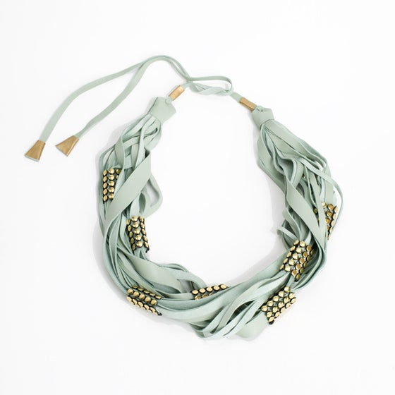 Image of ringo scarf necklace