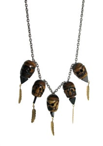 Image of Tribe Skull Necklace (LIMITED)