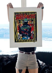 Image of Minutes To Massacre Print
