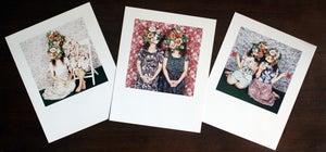 Image of flower girls
