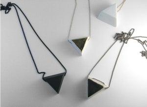 Image of Triangle Petit Pendant
