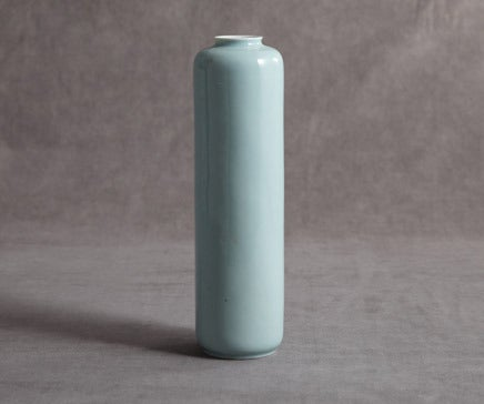 Image of Robin Egg Blue Porcelain Vase BC-035