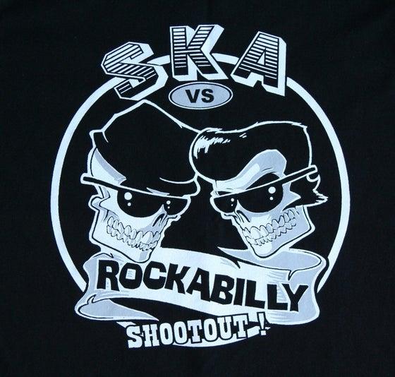 Image of Ska Vs Rockabilly Ladies & Guys T-Shirt