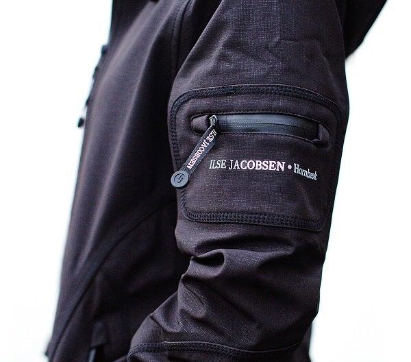 Image of Ilse Jacobsen Rain Jacket - Black